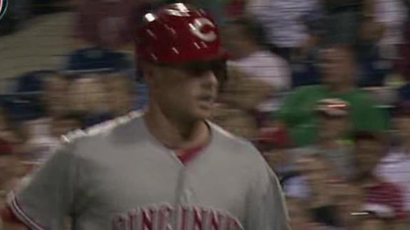 Video - Cozart's Homer Lifts Reds To Win