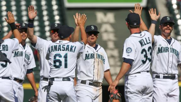 Video - M's Win 8th Straight