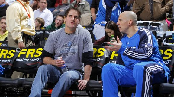 Video - Mark Cuban Not Happy With Jason Kidd