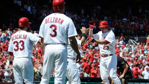 Video - Freese, Holliday Power Cardinals