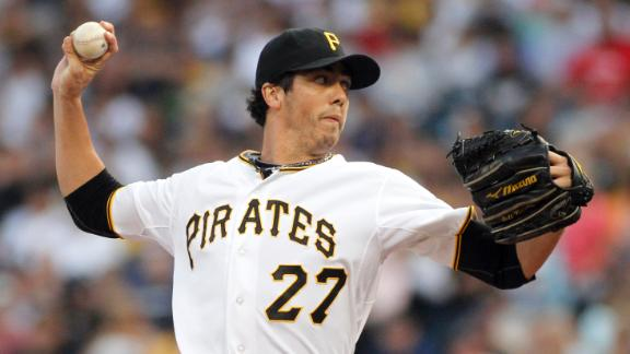 Karstens, Pirates blank Brewers to halt skid