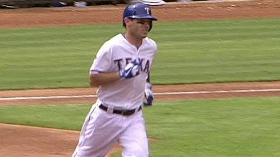 Kinsler, Moreland homer as Rangers win again