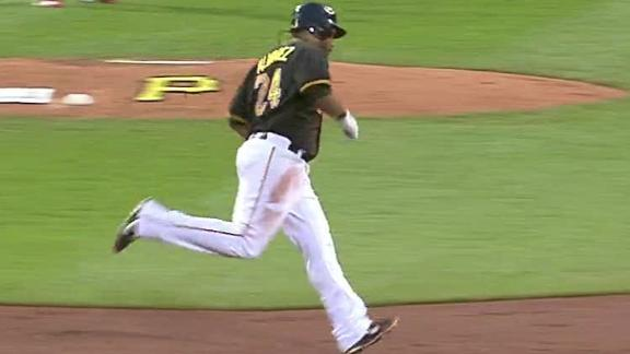 Video - Alvarez Homers Twice In Pirates' Win
