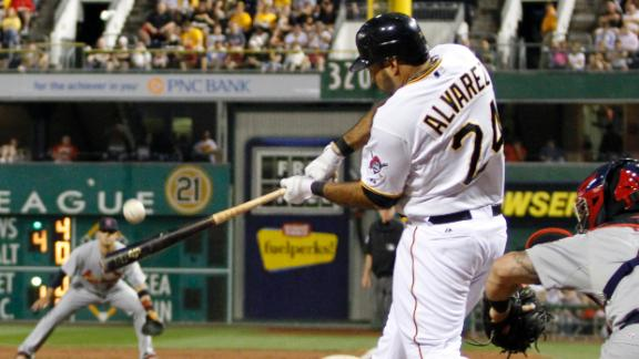 Pirates beat Cards, pull closer in wild-card race