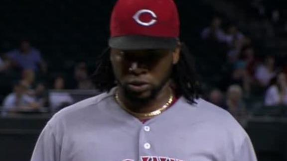 Video - Cueto Picks Up 17th Win Of Season