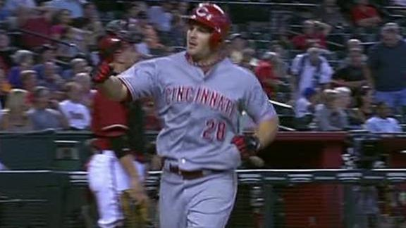 Video - Heisey Homers Twice In Reds' Win