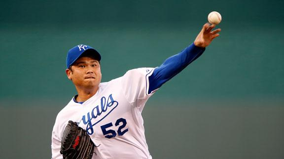 Video - Chen Dominant As Royals Blank Tigers