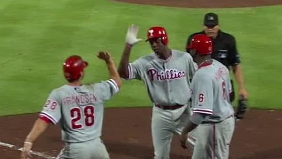 Video - Phillies Rally For Win In 10th