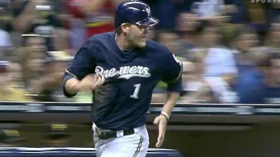 Brewers' Hart drills walk-off HR against Pirates