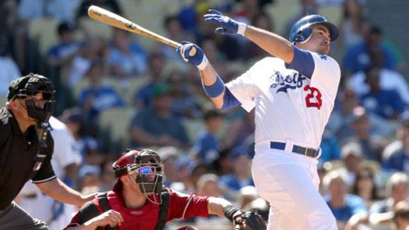 Dodgers walk off on Gonzalez's 2-run hit in 9th