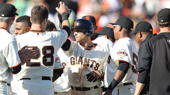 Video - Giants Walk Off In 10th