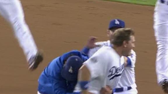 Video - Dodgers Walk Off In 11th