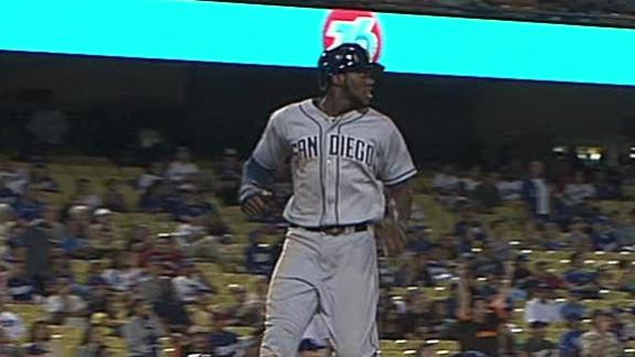 Video - Padres Top Dodgers In 11