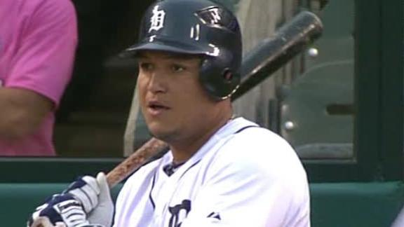 Cabrera, Fielder go deep as Tigers top Indians