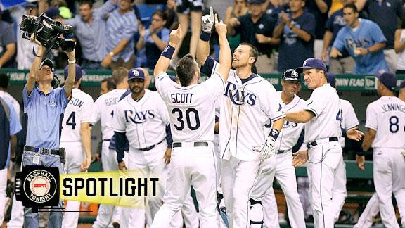 Ben Zobrist's walk-off homer in 11th lifts Rays