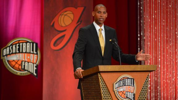 Video - Reggie Miller Inducted Into Hall Of Fame