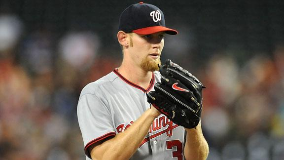 Strasburg 'not too happy' being shut down