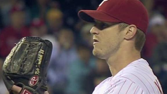 Kendrick pitches Phillies to 5th straight win