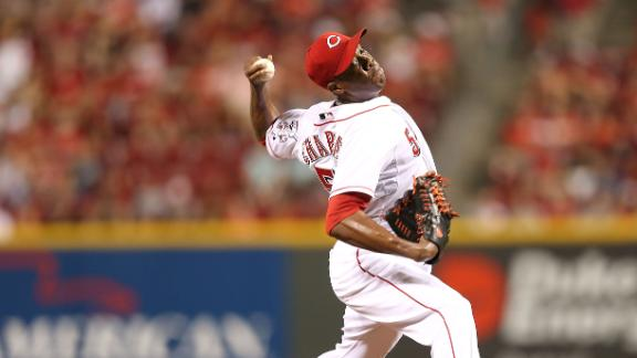 Reds concerned by Chapman's drop in velocity