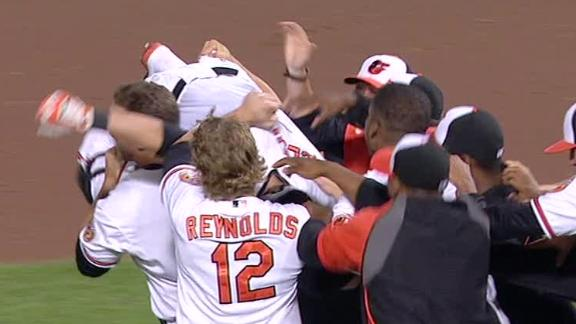Video - Orioles Walk Off