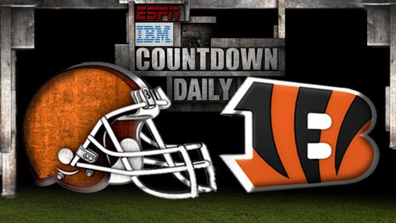 Countdown Daily previews Browns-Bengals