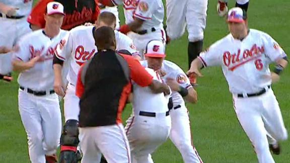 Video - Orioles Win In Extra Innings