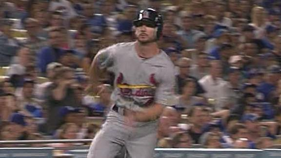 Video - Cardinals Edge Dodgers 2-1