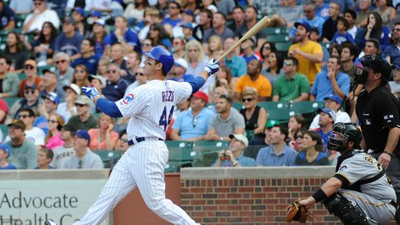 Video - Rizzo's Big Day Lifts Cubs Over Pirates