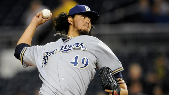 Gallardo's gem pushes Brewers past Pirates