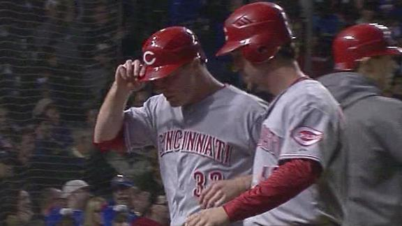 Video - Reds Roll Cubs 3-1