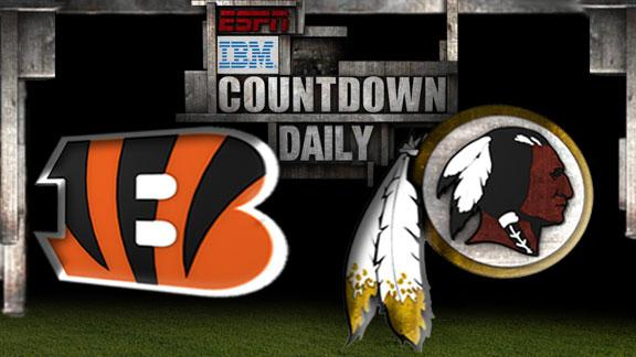 Video - Countdown Daily Prediction: Bengals-Redskins