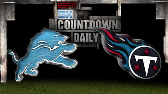 Video - Countdown Daily Prediction: Lions-Titans