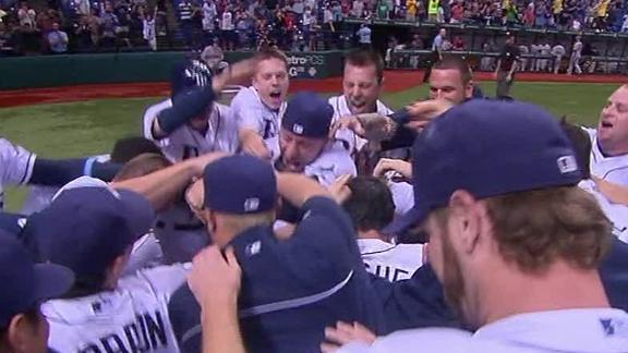 Video - Upton Blasts 3-Run Walk-Off Homer