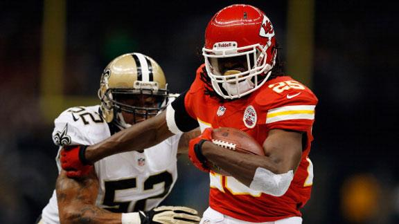 Charles, Chiefs rally to top Saints in OT stunner