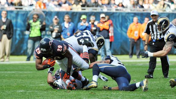 Rapid Reaction: Bears 23, Rams 6