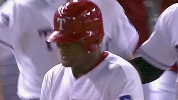 Beltre's single rallies Rangers past Athletics