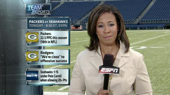 MNF: Hours away from Packers-Seahawks