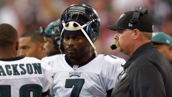 Eagles' Reid backtracks, says Vick is team's QB
