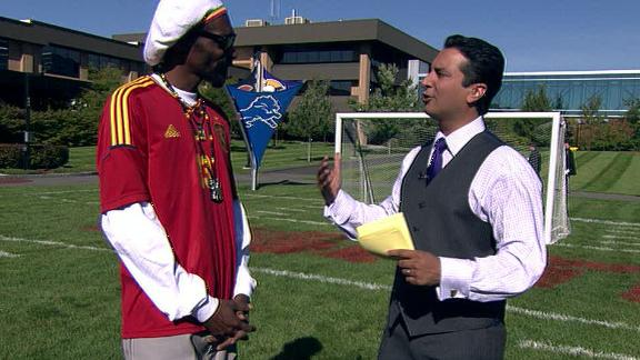 Video - Snoop Talks Football, Lakers