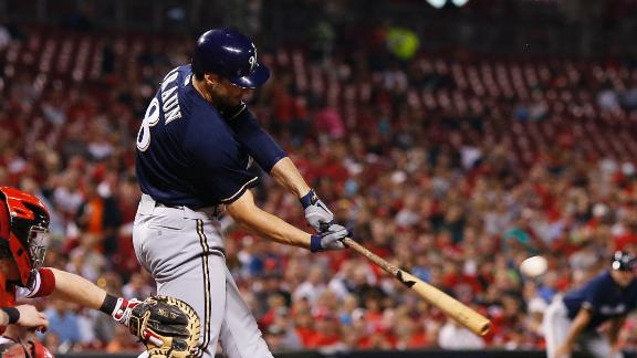Braun hits 41st homer as Brewers stay in hunt