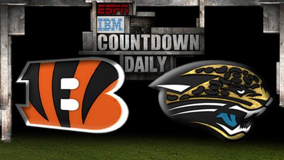 Video - Countdown Daily Prediction: Bengals-Jaguars