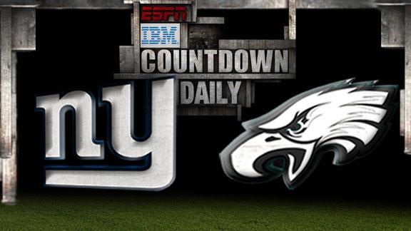 Giants WR Nicks (knee/foot) out vs. Eagles