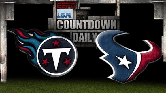 Video - Countdown Daily Prediction: Titans-Texans