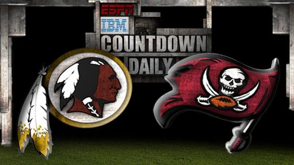 Video - Countdown Daily Prediction: Redskins-Buccaneers