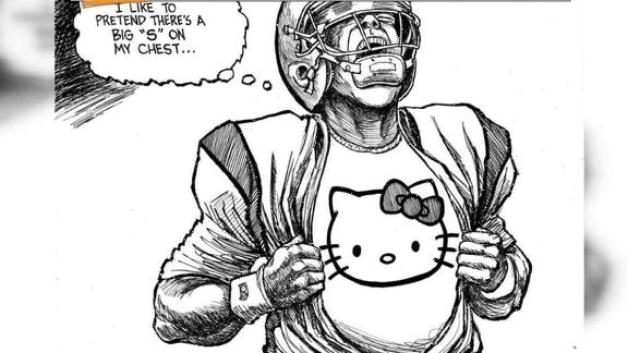 Video - Cam Newton Cartoon Fair Or Foul?