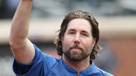 Video - Dickey: 'Pretty Special Moment'