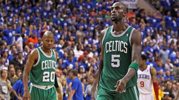 Video - Kevin Garnett Not Talking To Ray Allen