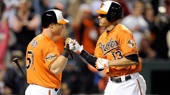 Machado's HR gives O's win, share of East lead