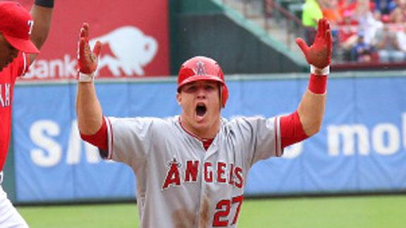 Video - Trout Achieves Milestone