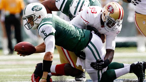 Niners' DB Rogers 'shocked' by Jets' effort on D